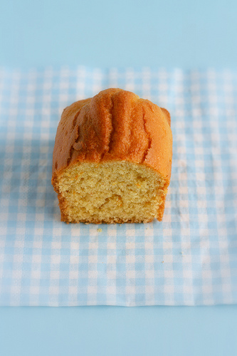 Orange mini plumcake