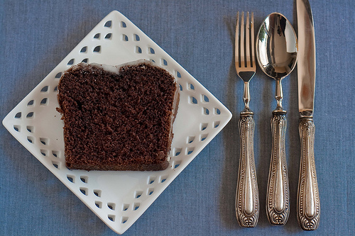 Plumcake with brown rice flour