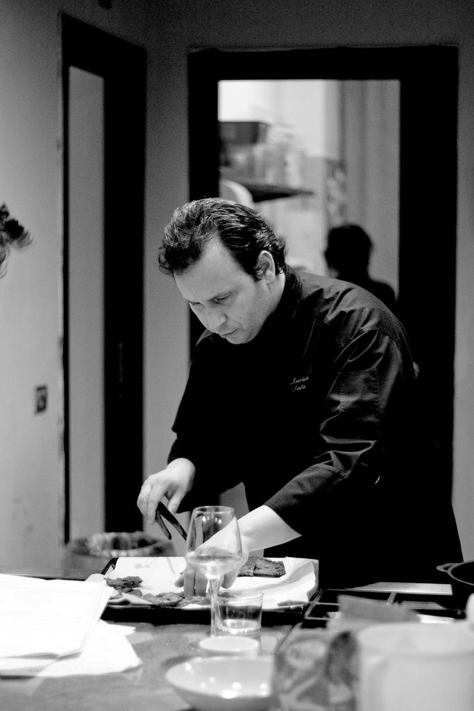 A lezione con lo chef: Maurizio Santin