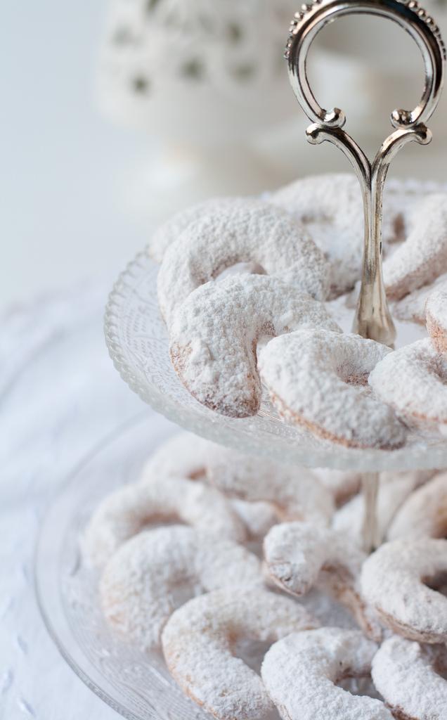 Gluten free Vanillakipferl